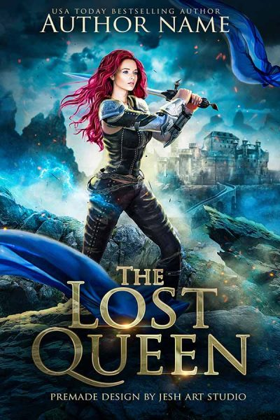 the lost queen premade cover desgin by jesh art studio
